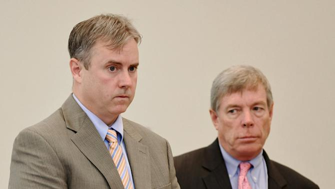 Attorneys of Leader brothers appear before the judge to waive their clients hearing in Dorchester, Massachusetts