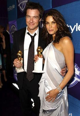 Winners Jason Bateman, Actor, Musical or Comedy, and Teri Hatcher, Actress, Musical or Comedy InStyle/Warner Bros. Golden Globes Party The Palm Court at the Beverly Hilton - Beverly Hills, CA - 1/16/0