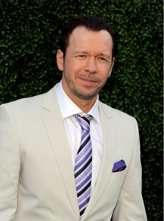 """Blue Bloods's"" Donnie Wahlberg arrives at the TCA Summer 2010 CBS/The CW/Showtime ""Star Party in the Tent"" on July 28, 2010 in Beverly Hills, California."