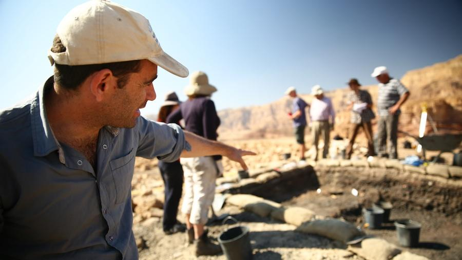 Sophisticated Defense System Discovered at Biblical-Era Mining Camp