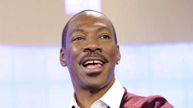 """FILE - In this Oct. 26, 2011 file image released by NBC, actor Eddie Murphy appears on the """"Today"""" show to promote his new movie """"Tower Heist"""" in New York. The Academy of Motion Picture Arts and Sciences announced Wednesday, Nov. 9, 2011, that Murphy has withdrawn as host of the 84th Academy Awards. On Wednesday, Brett Ratner stepped down as producer of the show. (AP Photo/NBC, Peter Kramer, file)"""