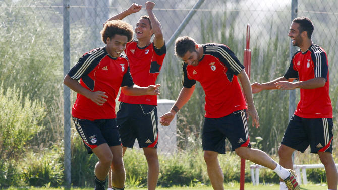 FBL-EUR-BENFICA-TRAINING