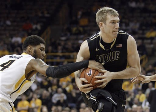 Purdue beats Iowa 79-76 in Big Ten opener