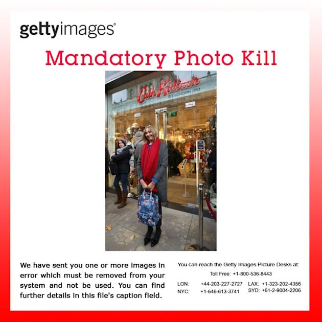 MANDATORY PHOTO KILL - Cath Kidston's Gift To London