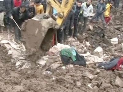 Raw: Deadly Landslide in China