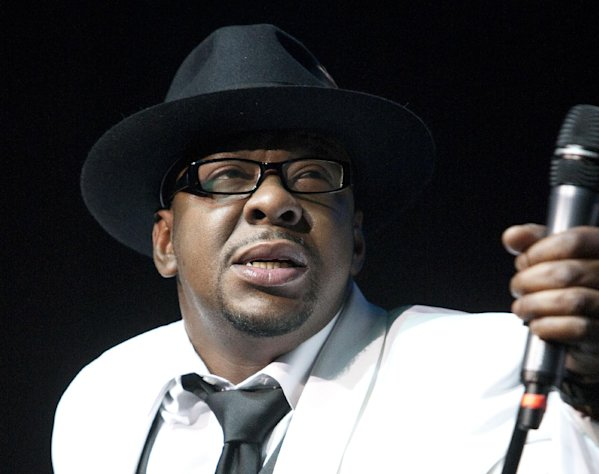 FILE - In this Feb. 18, 2012 file photo, singer Bobby Brown, former husband of the late Whitney Houston performs at Mohegan Sun Casino in Uncasville, Conn. Brown has been arrested on suspicion of drunken driving for the second time this year. Police say he was booked Wednesday, Oct. 24, on suspicion of driving under the influence at the Van Nuys jail but was later released. (AP Photo/Joe Giblin, File)