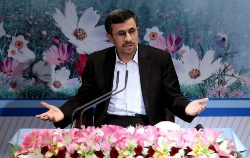 Iranian President Mahmoud Ahmadinejad holds a press conference in Tehran last week. Ahmadinejad, current chair of the Non-Aligned Movement, travels next week to Azerbaijan and Kuwait to attend forums on boosting cooperation in Asia, the state-run IRNA news agency reported on Saturday