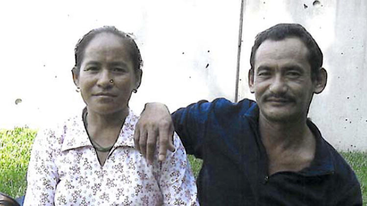 This undated photo provided by the Philadelphia District Attorney's Office shows Karnamaya Mongar and her husband. Karnamaya Mongar died after being given too much anesthesia and pain medication during a 2009 abortion. The only licensed doctor on staff at the clinic where Mongar died, goes on trial Monday, March 18, 2013, on eight counts of murder, but prosecutors say he's not the only person to blame for the deaths. (AP Photo/Philadelphia District Attorney)