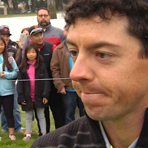 Rory McIlroy interview after the Quarterfinals of Cadillac Match Play