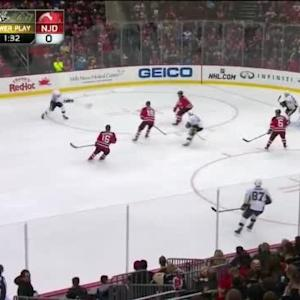 Cory Schneider Save on Kris Letang (09:12/2nd)