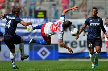 Hamburg 1-1 Inter: Honours even at the Imtech Arena