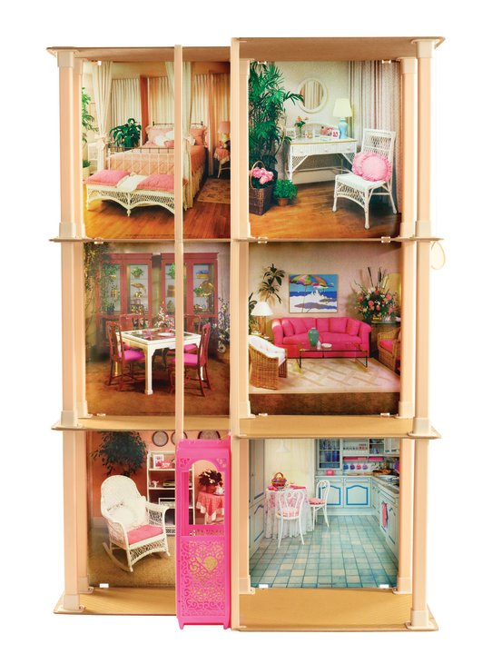 Barbie Dreamhouse through the decades 1983