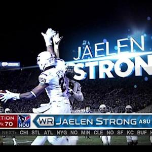 Houston Texans pick wide receiver Jaelen Strong No. 70 in the 2015 NFL Draft