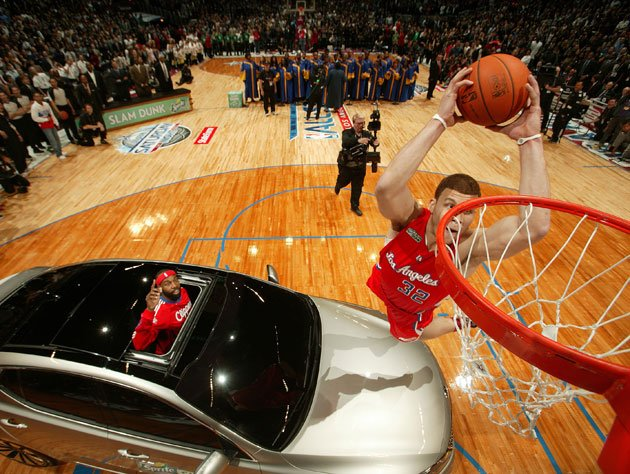 Blake Griffin won't be in the 2012 DUNK CONTEST 'as of right now ...