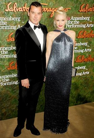 Gwen Stefani Dresses Baby Bump in Fringe Gown on Red Carpet With Husband Gavin Rossdale