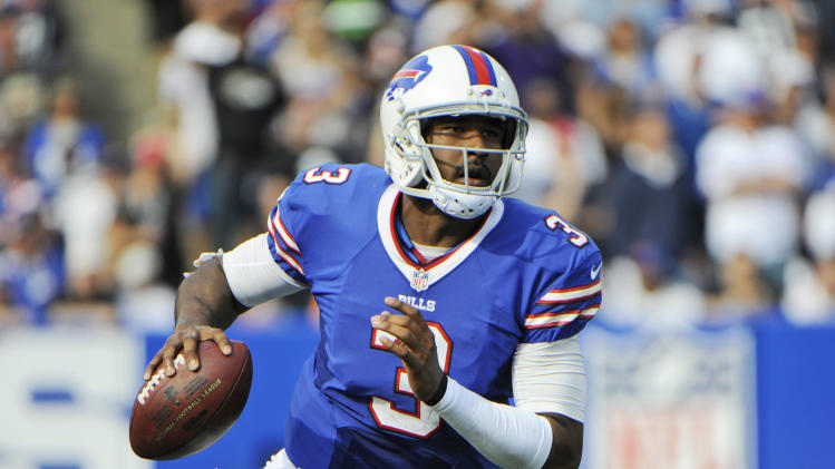 Bills coach reminds QB Manuel to avoid taking hits