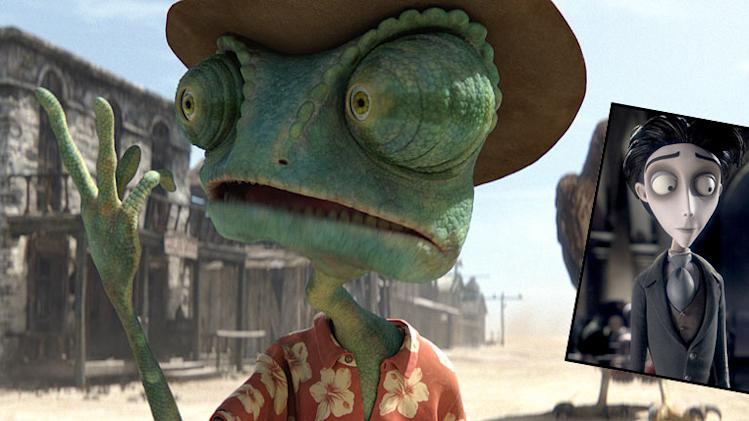 5 Best Johnny Depp Performances 2011 Rango Corpse Bride