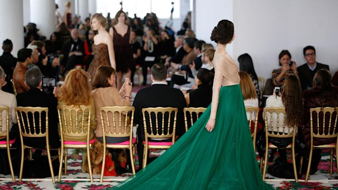 Delpozo - Runway - Fall 2013 Mercedes-Benz Fashion Week