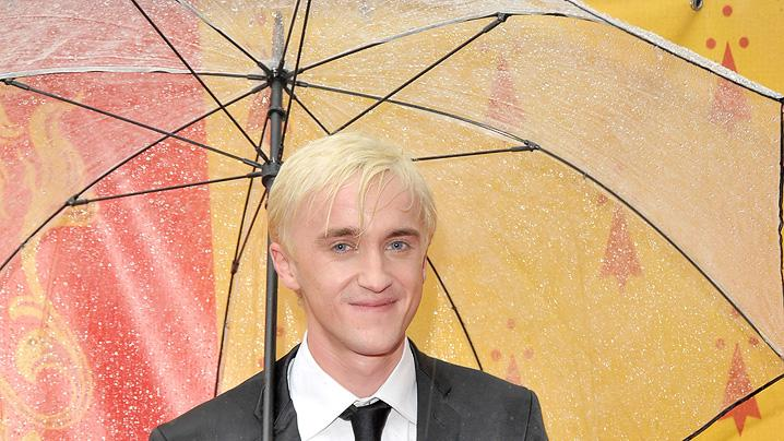 Harry Potter and the Half Blood Prince UK Premiere 2009 Tom Felton