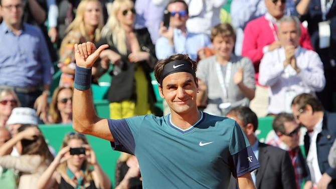Federer beats Djokovic to reach Monte Carlo final