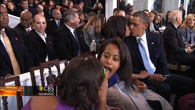 Inauguration Day: Photobombs, yawns, and big moments