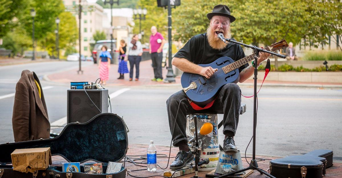 A new way to explore the Asheville music scene