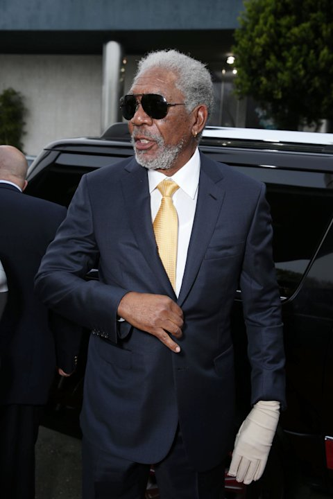 Morgan Freeman at FilmDistrict's Premiere of 'Olympus Has Fallen' hosted by Brioni and Grey Goose at the ArcLight Hollywood, on Monday, March, 18, 2013 in Los Angeles. (Photo by Eric Charbonneau/Invis