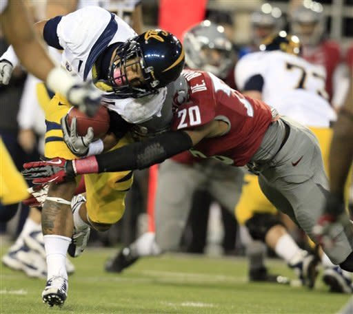 Maynard leads California by Washington State 31-17