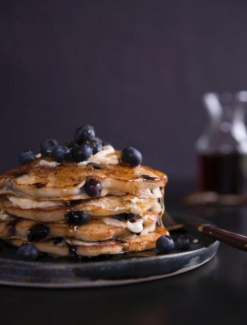 Whole Wheat Blueberry Pancakes Recipe
