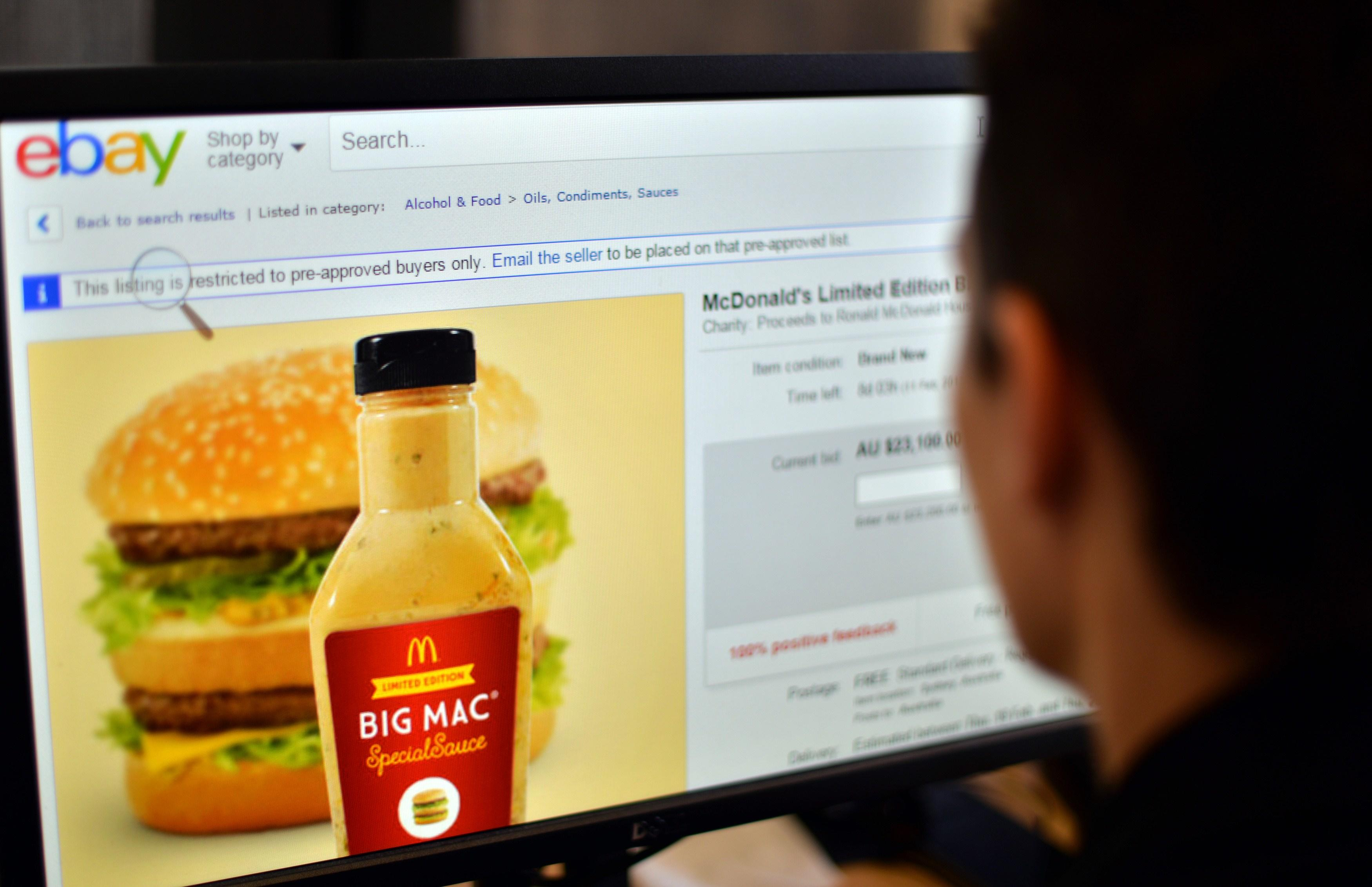 Bottle of McDonald's Big Mac Sauce Up for Auction Almost at $100,000