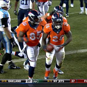 Denver Broncos running back Montee Ball 5-yard TD run