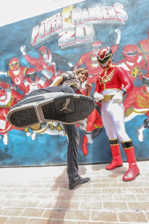 Saban's Power Rangers POWER Up San Diego Comic-Con - Day 3