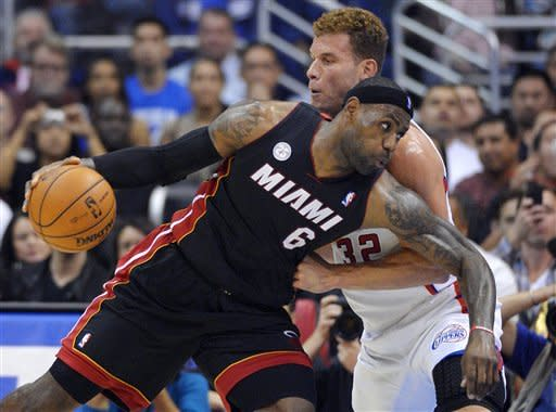 Clippers beat Heat 107-100 for 4th straight win