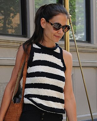 Katie Holmes vs. Victoria Beckham at New York Fashion Week