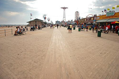 Effort to Landmark Coney Island Boardwalk Gets Renewed Push