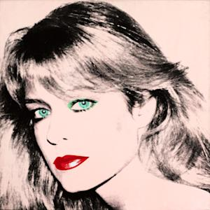 "This photo released by courtesy of the Blanton Museum of Art shows Andy Warhol's painting of ""Farrah Fawcett,"" 1980. The painting was bequeathed by Fawcett to the University of Texas at Austin in 2010. The university sued Oscar-nominated actor Ryan O'Neal to gain possession of a second Fawcett portrait done by Warhol and the case went to trial in Los Angeles in late 2013.(AP Photo/Blanton Museum of Art, Copyright The Andy Warhol Foundation for the Visual Arts) **MANDATORY PHOTO CREDIT**"