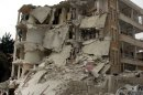 Army mortar shells kill 10 in Syrian village