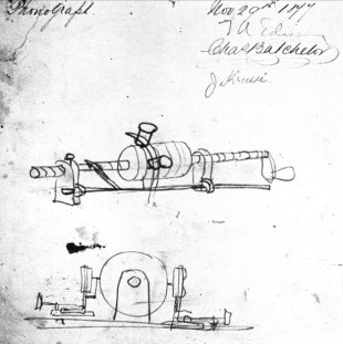 Edison phonograph sketch November 29 1877.jpg