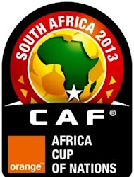 A Confederation of African Football picture shows the official logo of the Africa Cup of Nations 2013. South Africa host the Africa Cup from January 19 to February 10, having stepped in when turmoil in Libya forced the tournament to be moved from the North African country.