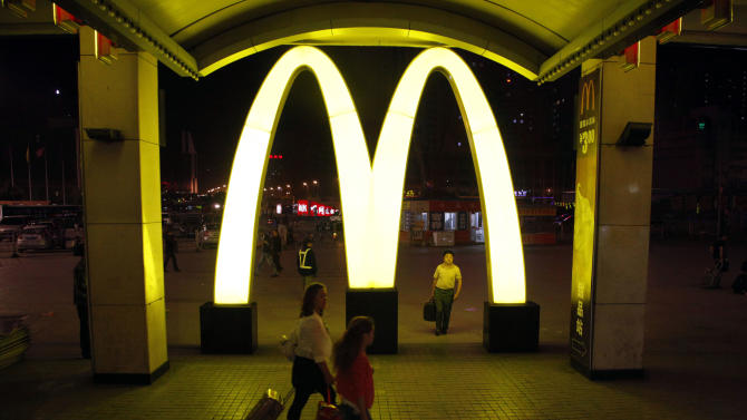 McDonald's sales hit by weakness in Asia, Europe