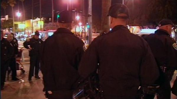 SFPD arrest 25 after 49ers loss last night