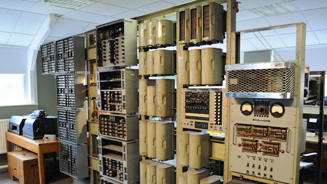 The world's oldest working digital computer has been brought back to life at Bletchley Park, Buckinghamshire. (Image: Wikimedia)