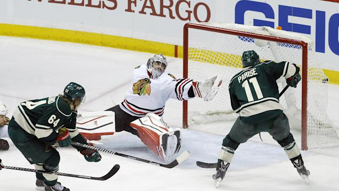 Wild brace for faster pace from Blackhawks