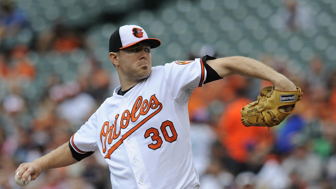 Tillman, Markakis carry Orioles over Mariners 1-0