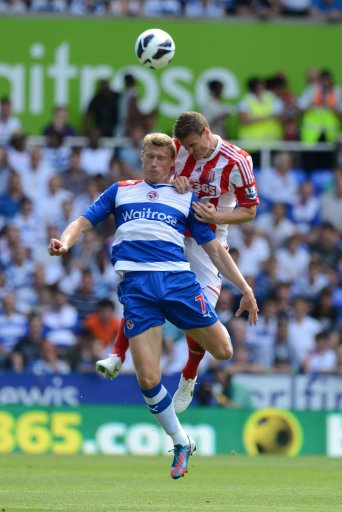 Robert Huth, right, recovered from meningitis to play against Reading on Saturday