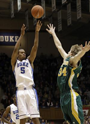 No. 6 Duke dodges Vermont's upset bid, 91-90