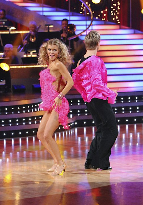 JoAnne Krupa and Derek Hough perform on &quot;Dancing with the Stars.&quot; 