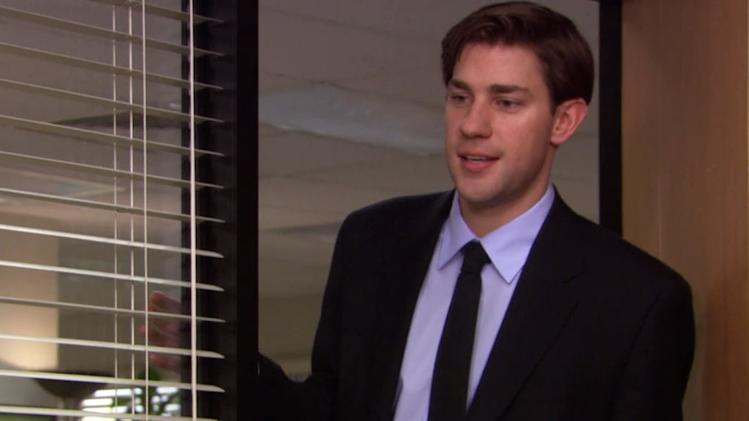 "Question: On ""The Office,"" what did Pam attach to Jim's sales report, which sent him back to Scranton to finally ask her out on their first official date?"