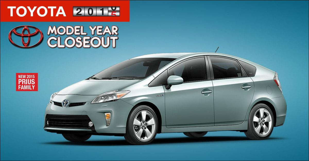 $2000 cash back on new 2015 PRIUS