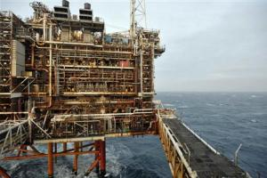 A section of the BP Eastern Trough Area Project oil…